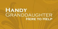 Handy Granddaughter Laurie provides minor home repairs and upkeep services for Seniors